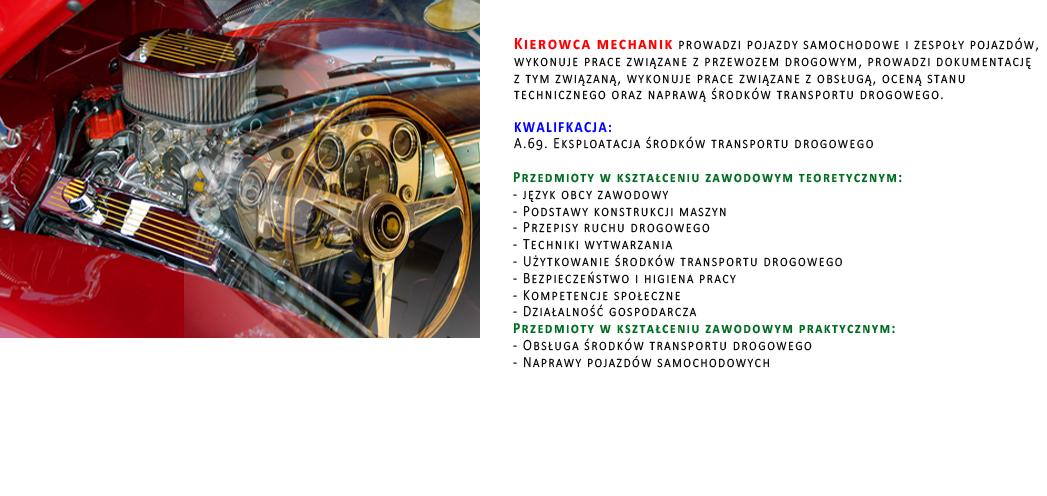 kierowca mechanik